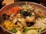 A good-sized bibimbap bowl.