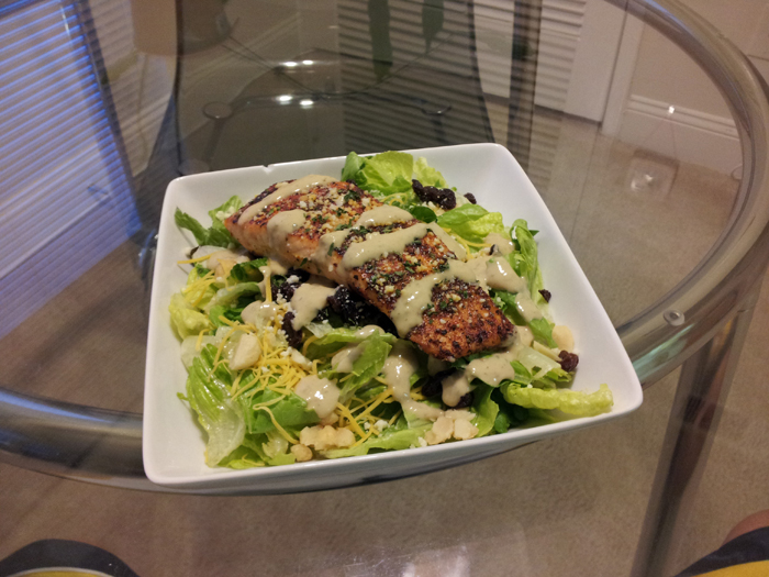 Cajun Salmon Salad, Photo 1