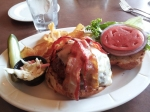 The Nauvoo Burger, before it's fully constructed.