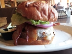 The tower that is the 10 oz. Nauvoo Burger.