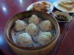 Shanghai soup dumplings, or xiao long bao.