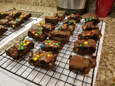 CHOCOLATE BUTTERSCOTCH BROWNIES